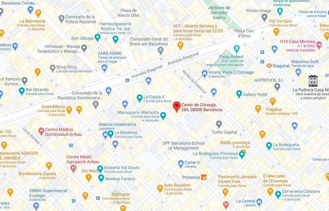 Mapa oficina nueva TECNOideas