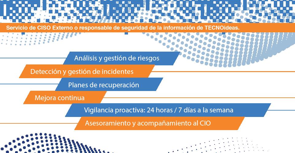 Serv icio CISO externo - cast Infografica