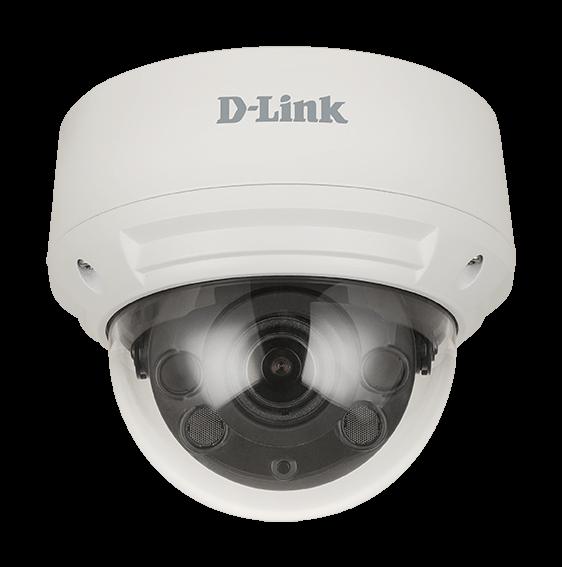Vulnerabilidades en el protocolo WiFi y en cámaras de videovigilancia. Cámara Vigilance 8 Megapixel h.265 Outdoor Dome de D-Link.